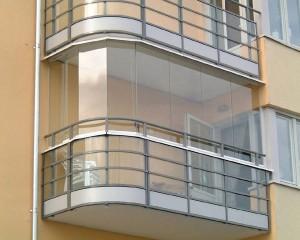 Остекление балкона монолитным поликарбонатом своими руками