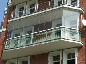 Фото: Балкон из поликарбоната