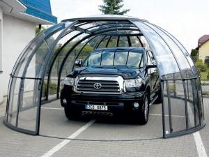 Гараж из поликарбоната своими руками — надежный дом для вашей машины