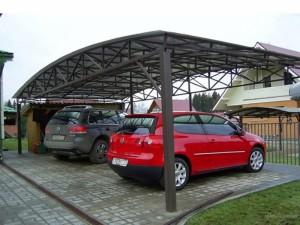 Как построить навесы для автомобилей из поликарбоната своими руками?