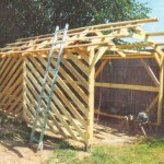 Фото: Установка деревянных брусков