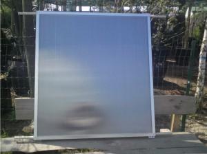 Как сделать солнечный коллектор из поликарбоната своими руками?