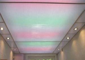 Фото: Поликарбонатные потолки