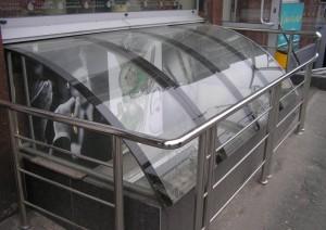 Фото: Стекла из поликарбоната