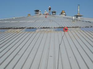 Фото: Профильная конструкция для крыши