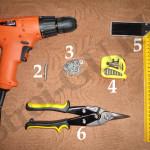Фото: Инструменты для поликарбоната