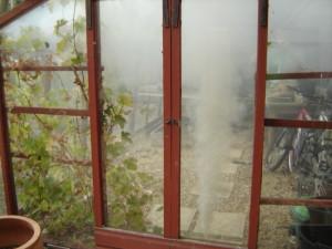 Фото: Обработка дымом
