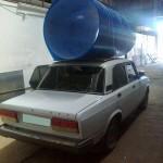 Фото: Материал на крыше авто