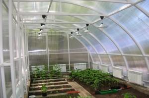 Зимний сад из поликарбоната — красивое и практичное сооружение своими руками