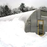 Фото: Зимняя теплица из поликарбоната