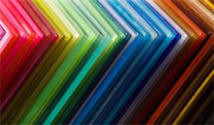 Цветной поликарбонат — какого цвета бывает материал?