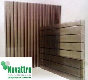 Поликарбонат Новатро — надежный и теплосберегающий материал