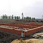 Фото: Кирпичный фундамент