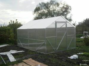 Теплица «Урожай Классик» из поликарбоната — прочный парник для северных регионов