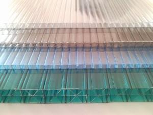Фото: Сотовый поликарбонатный лист