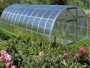 Теплица «Урожай» из поликарбоната — парник с высокой урожайностью своими руками