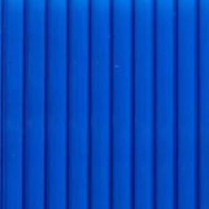 Фото: Полимерный лист синего цвета