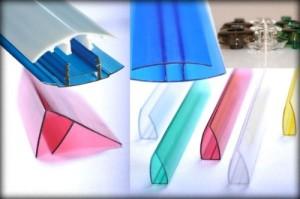 Комплектующие для поликарбоната — важные элементы при монтаже конструкции