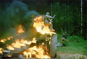 Фото: Маски для пожарников из поликарбонатного материала