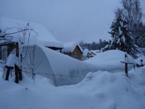 Фото: Последствия обильного снегопада