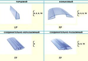 Фото: Профили для соединения листов с учетом терморасширения