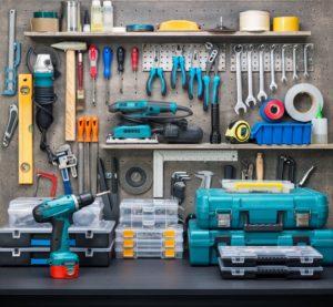 Фото: Список инструментов