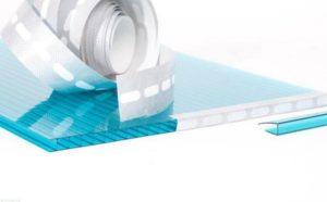 Лента для поликарбоната — лучшее средство для герметизации